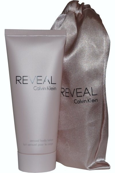 Calvin Klein Reveal Body Lotion 100ml i pose GWP
