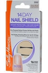Sally Hansen - 14 Day Nail Shield - Sheer Strips x 16 Sheer Blush