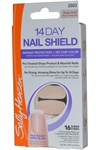 Sally Hansen - 14 Day Nail Shield -  Sheer Strips x 16 Sheer Shell
