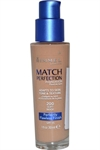 Rimmel - Match Perfection - Foundation Perfectly Flawless 30 ml Soft Beige SPF15