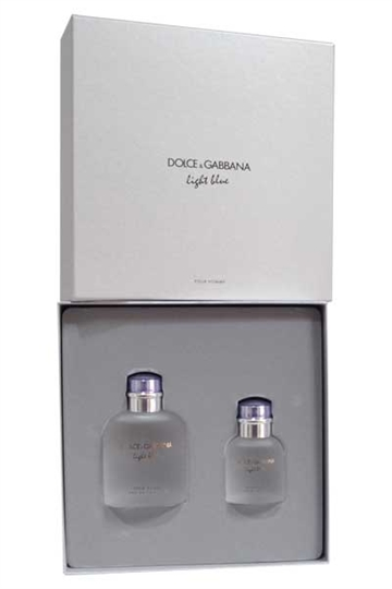 Dolce & Gabbana D&G Light Blue Homme EdT 125 ml og EdT 40 ml