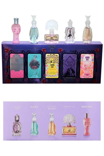 Anna Sui Mini set- Forbidden Affair, Secret Wish Fairy Dance, Flight of Fancy, Dolly Girl